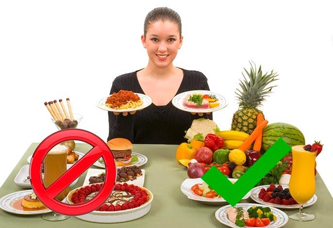 При хроническом гепатите С необходимо соблюдать диету, а так же отказать от вредных привычек