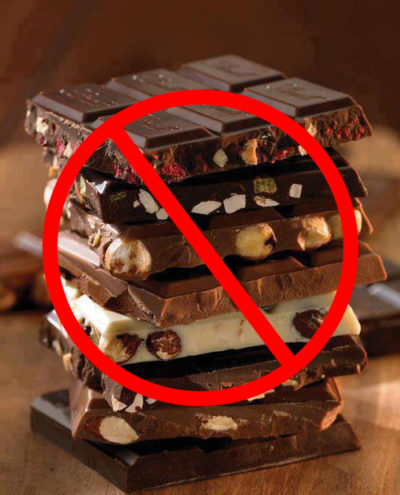 Запрещенный продукт — шоколад