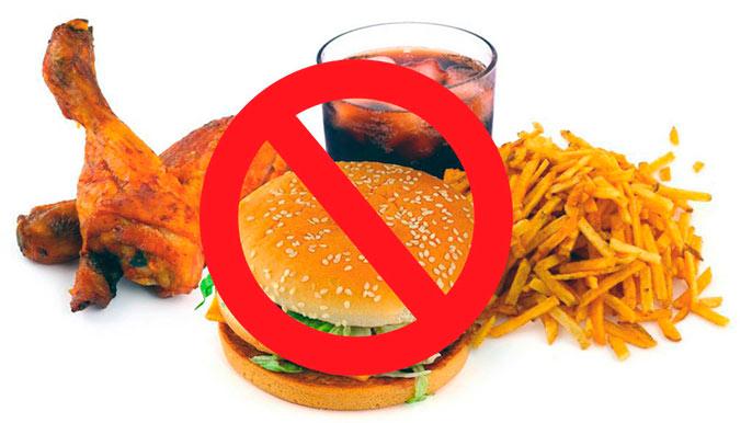Запрещенные продукты при эрозивном бульбите