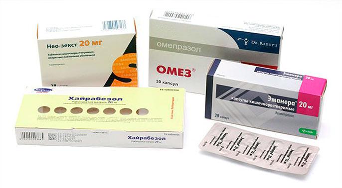 Ингибиторы протонной помпы - основной медикаментозный вид лечения при бульбите