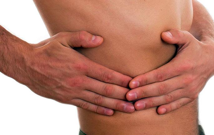Характерными симптомами крупноузлового цирроза печени являются боли в правом подреберье, нарушение работы жкт, снижение работоспособности и нарушение стула