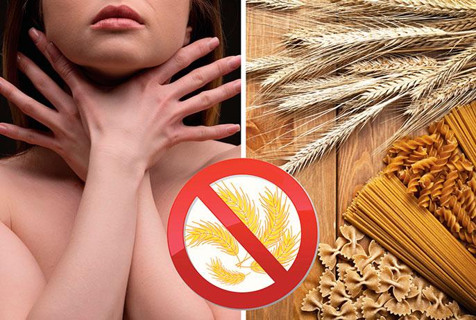 В первую очередь профилактикой целиакии является отказ от пище содержащий глютен