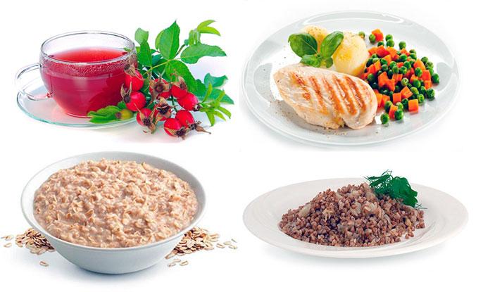 Питание при обострении холецистита