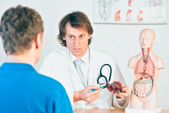 Лечение цирроза печени у мужчин