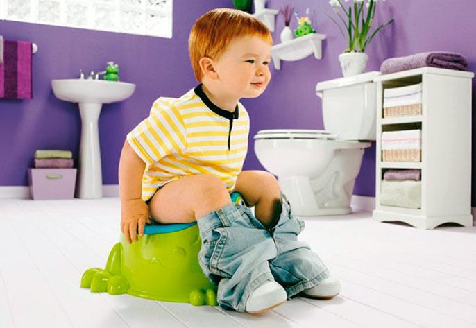 Зеленый цвет поноса у ребенка